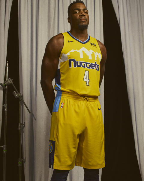 Nike NBA Denver Nuggets Statement Jersey