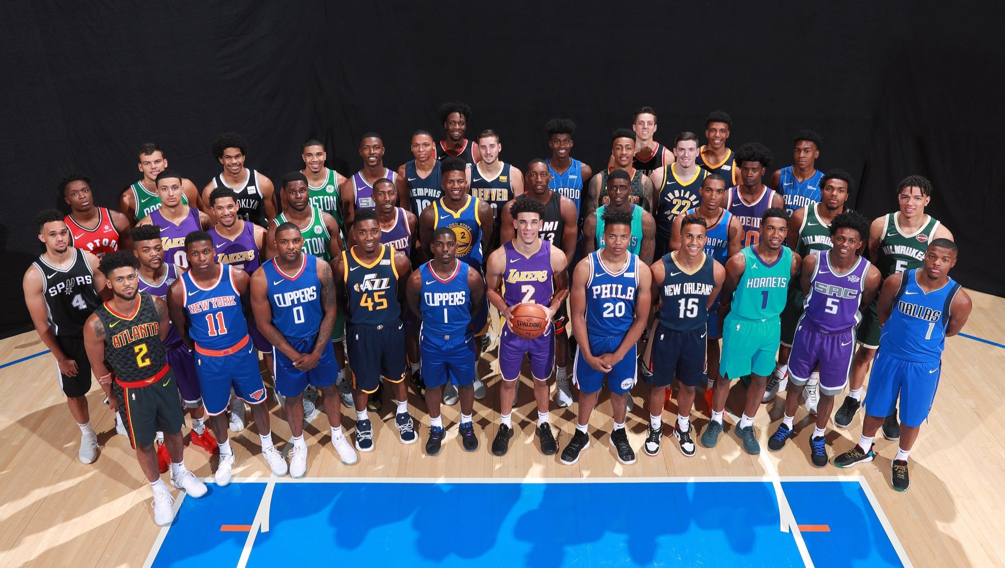 2017 Pannin Rookie Shoot - Nike NBA Uniforms