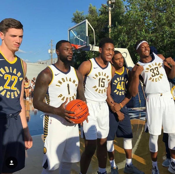Indiana Pacers Nike NBA Uniforms