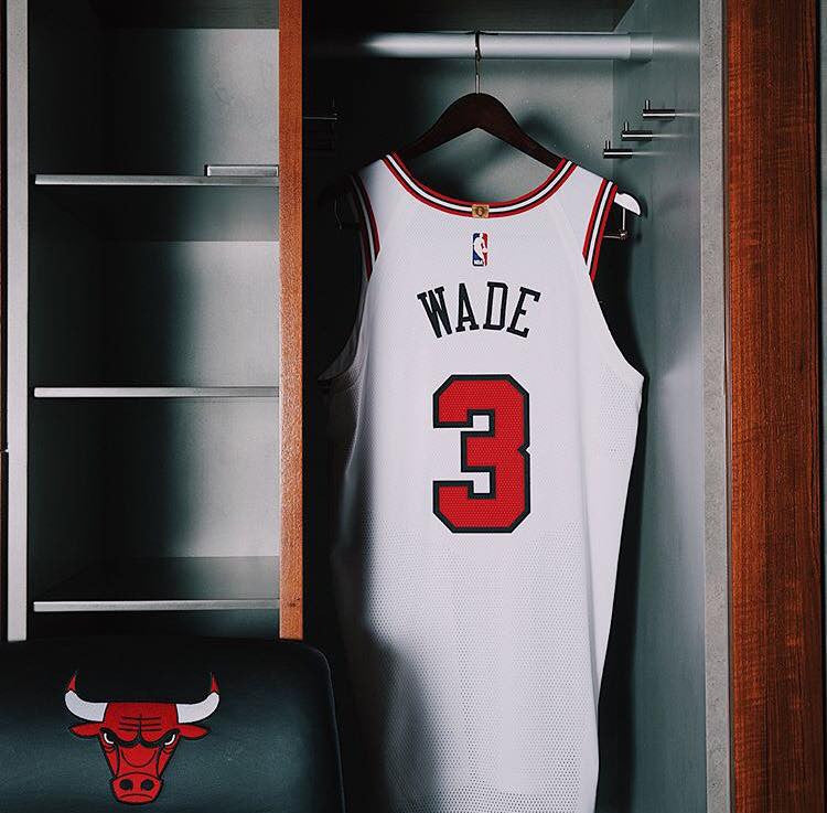 Chicago Bulls Nike NBA Association Jersey