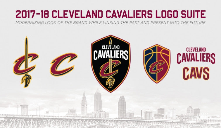 Cleveland Cavaliers New Logos