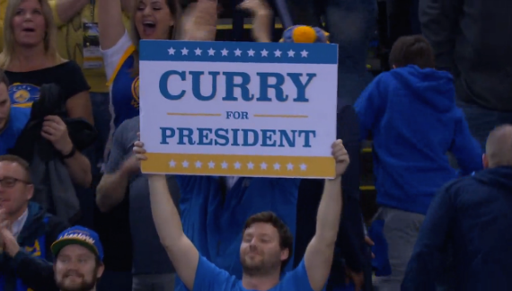 Steph Curry for President