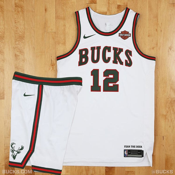 Milwaukee Bucks Classic Nike NBA Jersey