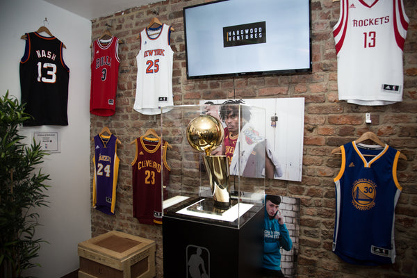 NBA Trophy Visit to Newcastle