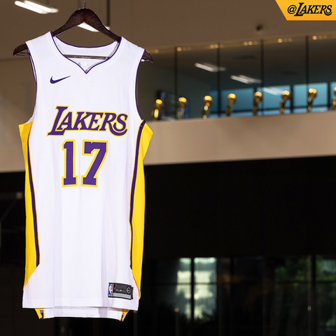 LA Lakers Nike NBA Jersey - Association Edition