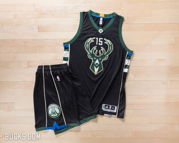 Milwaukee Bucks Reveal New  Fear the Deer  Alternative Uniforms ... b9835ec70