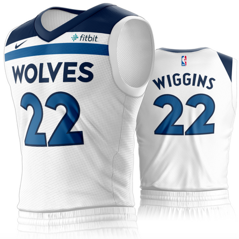 Minnesota Timberwolves Nike NBA Jersey Association