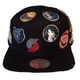 Mitchell and Ness NBA All Over Snapback West
