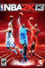 NBA 2K13 Front Cover featuring Blake Griffin, Derrick Rose and Kevin Durant