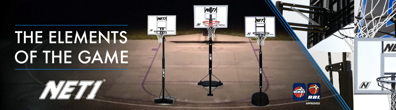 NET1 Portable Basketball Systems