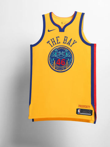 Golden State Warriors Nike NBA City Edition Jerseys