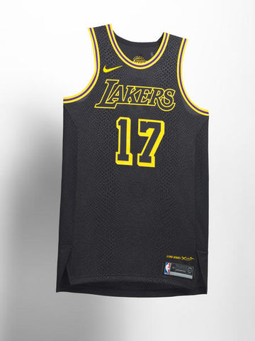 LA Lakers Nike NBA City Edition Jersey