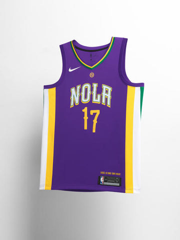 New Orleans Pelicans Nike NBA City Edition Jerseys