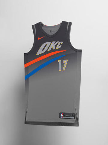 Oklahoma City Thunder Nike NBA City Edition Jersey