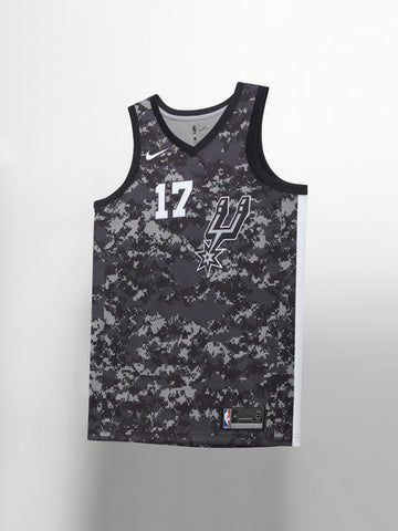 San Antonio Spurs Nike NBA City Edition Jersey