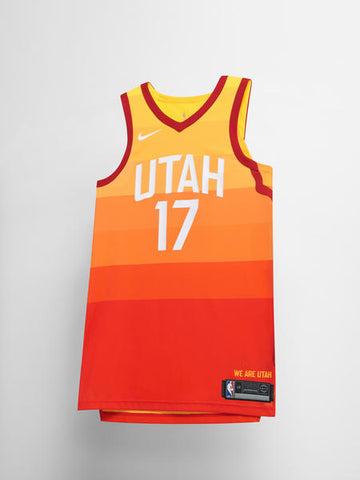 Utah Jazz Nike NBA City Edition Jersey
