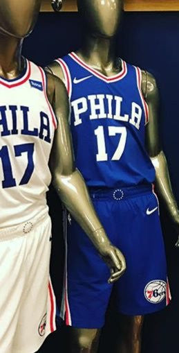 Nike NBA Philadelphia 76ers Uniforms