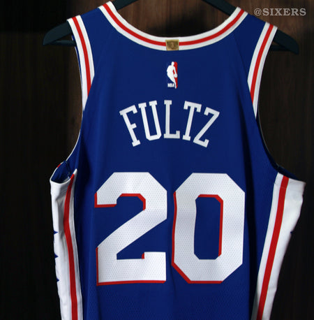 Philadelphia 76ers Nike NBA Uniforms Fultz