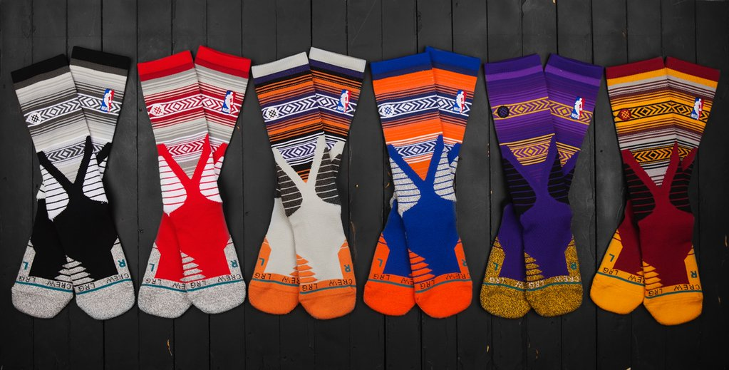 Stance NBA Noches Socks