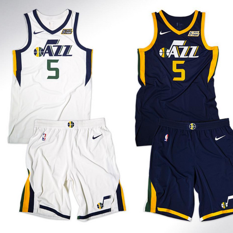 Utah Jazz Nike NBA Association Jersey