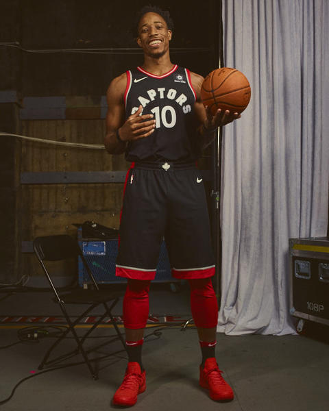Toronto Raptors Nike NBA Statement Jersey
