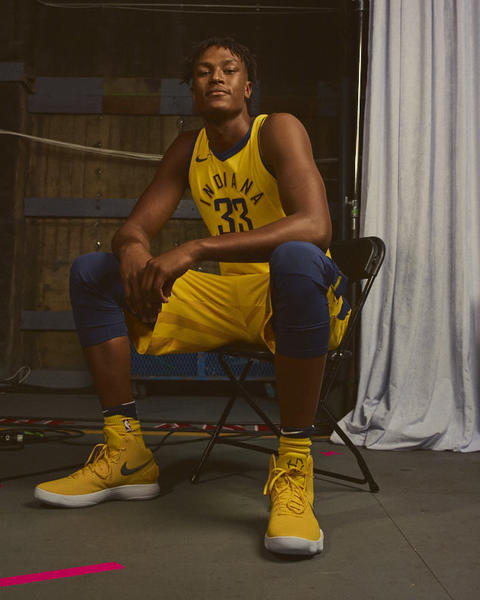 Indiana Pacers Nike NBA Statement Jersey