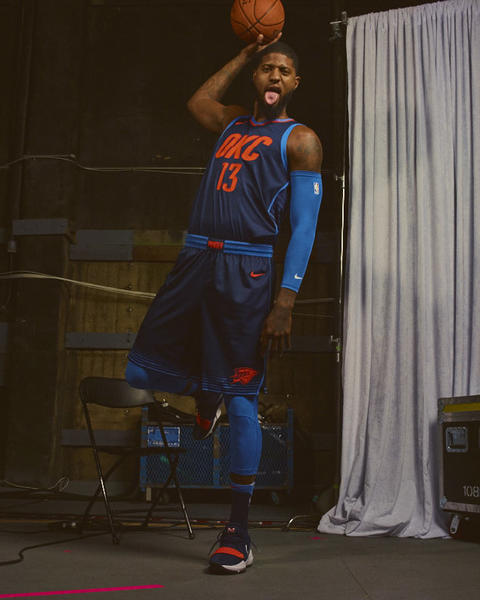 Oklahoma City Thunder Nike NBA Statement Jersey