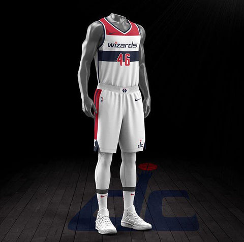 Washington Wizards Nike Association NBA Jersey