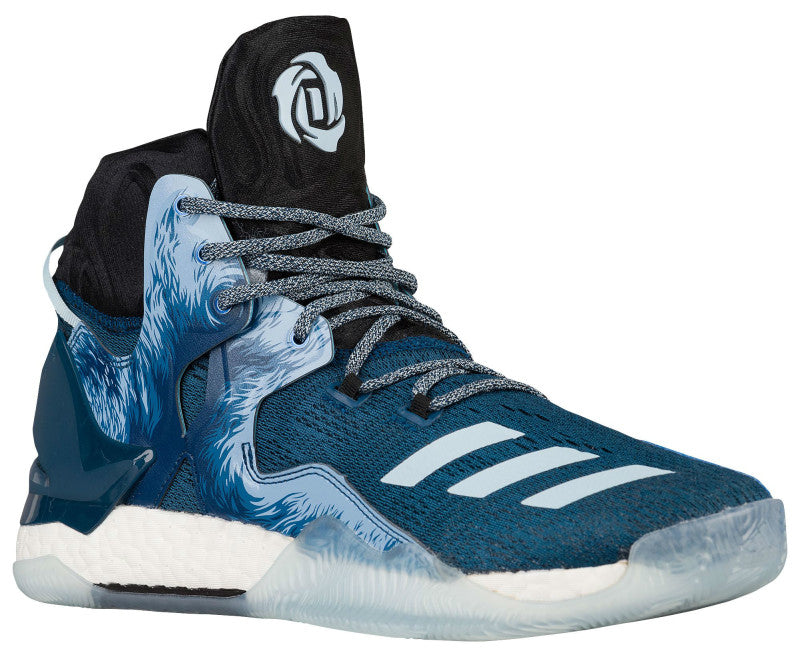 huge discount 5545b eca07 Adidas D Rose 7 Halloween in Tech Steel Ice Blue Core Black – Hardwood  Ventures ...