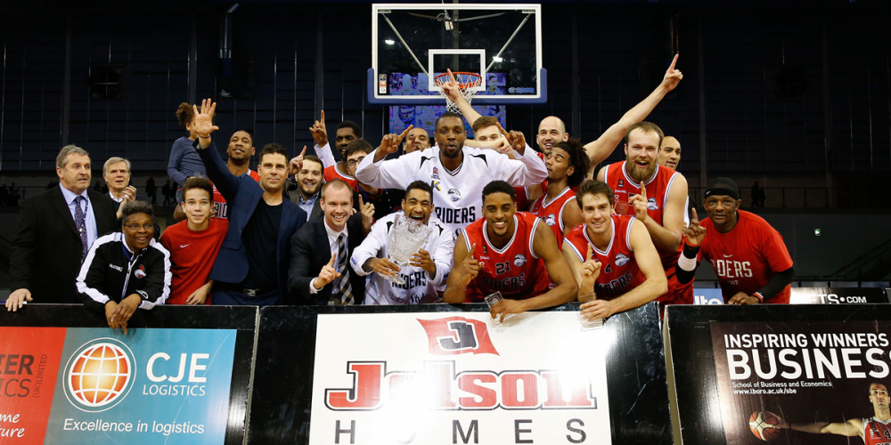 Leicester Riders win BBL Trophy Final 2016