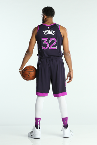 Towns Timberwolves City Jersey