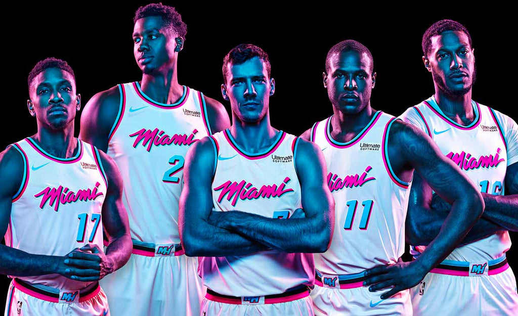 Nike NBA Miami Heat City Jerseys