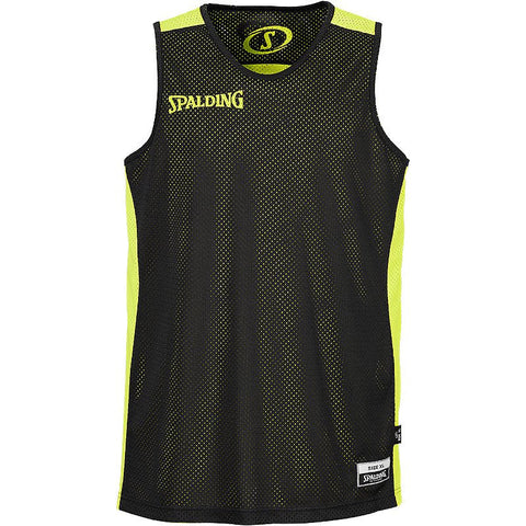 Spalding Reversible Jersey  - Black/Neon - X Small Only