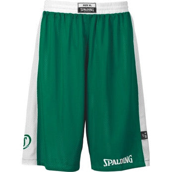 Spalding Reversible Shorts - Green/White