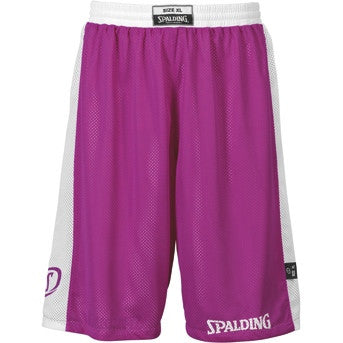 Spalding Reversible Shorts - Purple/White