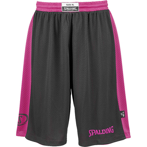 Spalding Reversible Shorts - Pink / Black