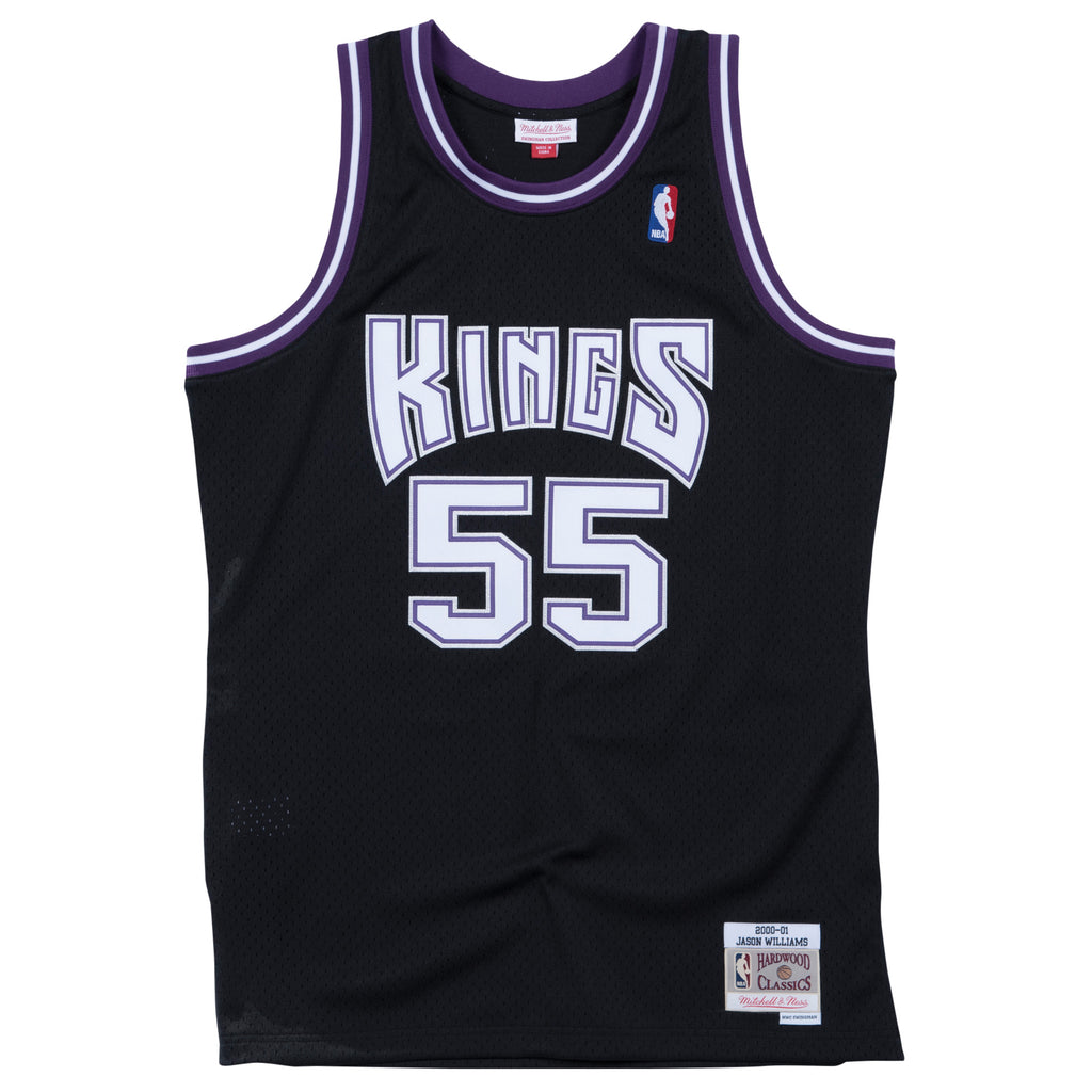 f63d3caf0 Jason Williams Sacramento Kings NBA Jersey by Mitchell and Ness ...