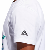 Adidas Basketball Club T-Shirt - White