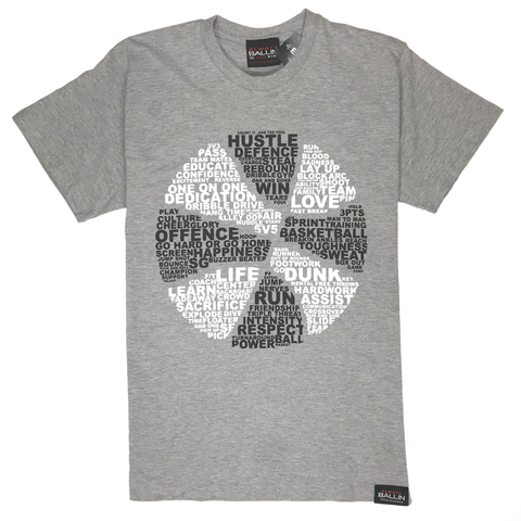 Always Ballin Basketball Is... T-Shirt - Grey