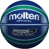 Molten GR Basketball Blue Green