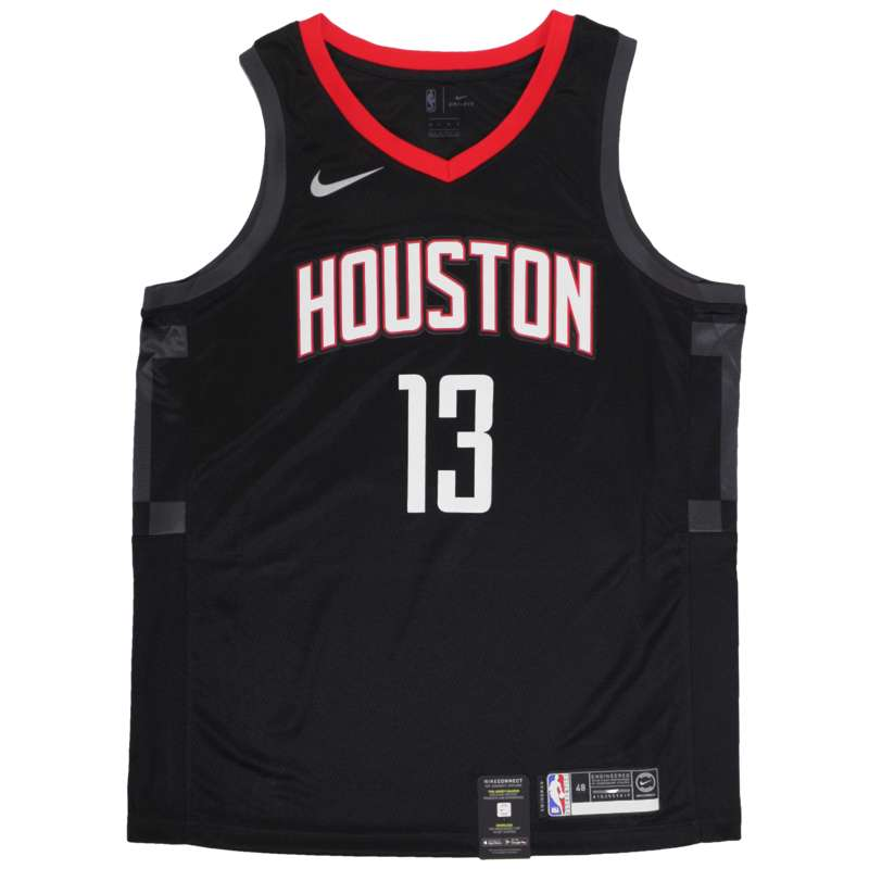 James Harden Black Houston Rockets Jersey Jersey UK - Nike NBA Statement  Jersey – Hardwood Ventures bc06fb8c5