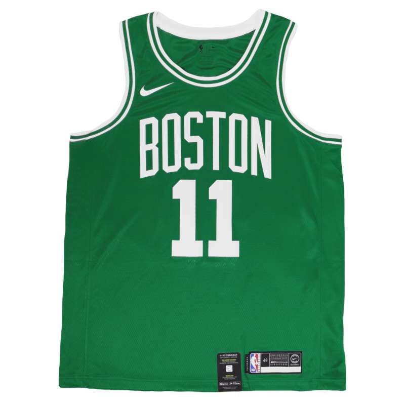 Kyrie Irving Boston Celtics Green Jersey - Nike Celtics Swingman Jersey UK  – Hardwood Ventures a5eb2db65