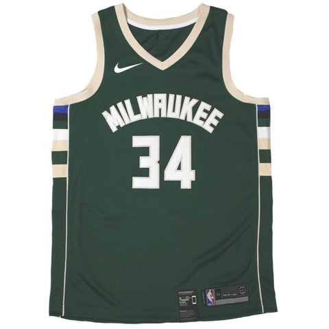 Nike Icon Swingman NBA Jersey - Milwaukee Bucks - Giannis Antetokounmpo