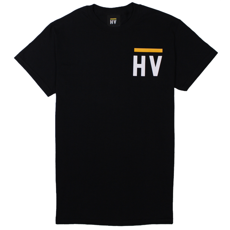 HV Monogram Logo T-Shirt - Black