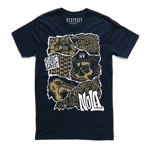 HV x OhNoes NOLA All Star T-Shirt