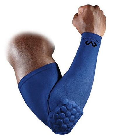 McDavid HexPad Power Shooter Arm Sleeve - Royal Blue