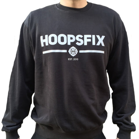 Hoopsfix - The Official Hoopsfix Crew - Black
