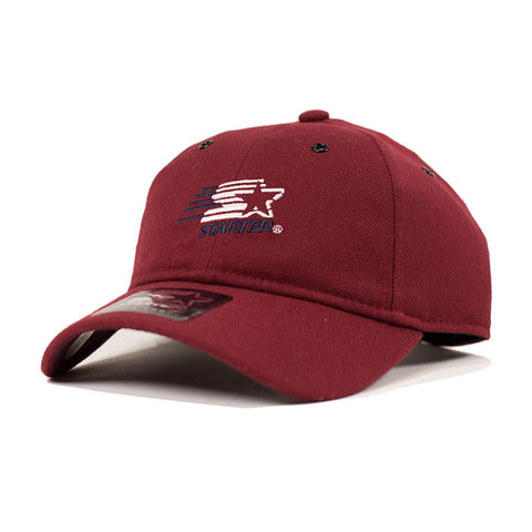 Starter Speedy Wool Pitcher Strapback - Burgundy