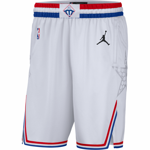 Jordan 2019 NBA All-Star Swingman Shorts - White