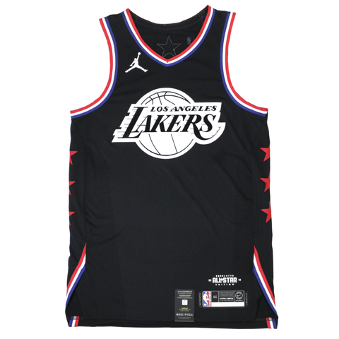 Jordan 2019 NBA All-Star Authentic Jersey - LeBron James - Black